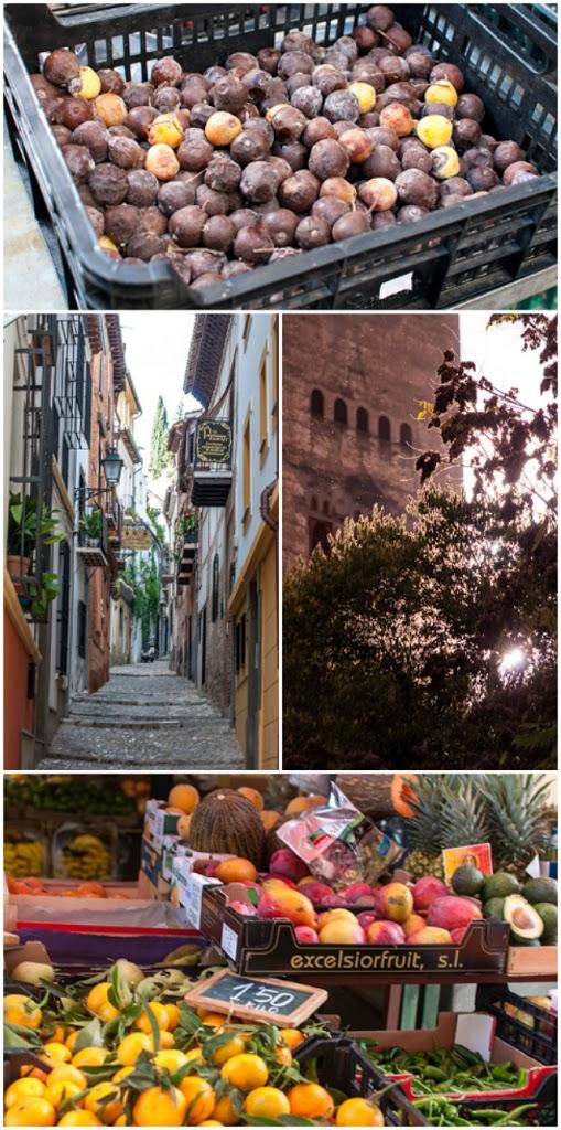 Szenen aus Granada