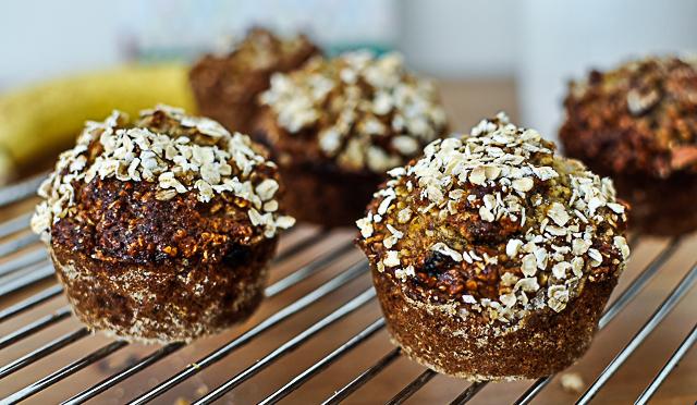 Haferflocken-Muffins-Blog