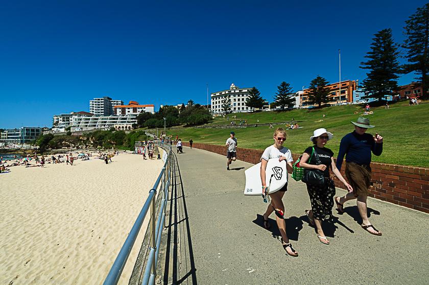 Promade in Bondi Beach