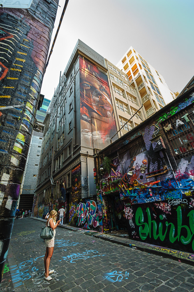 Hosier Lane Melbourne Street Art