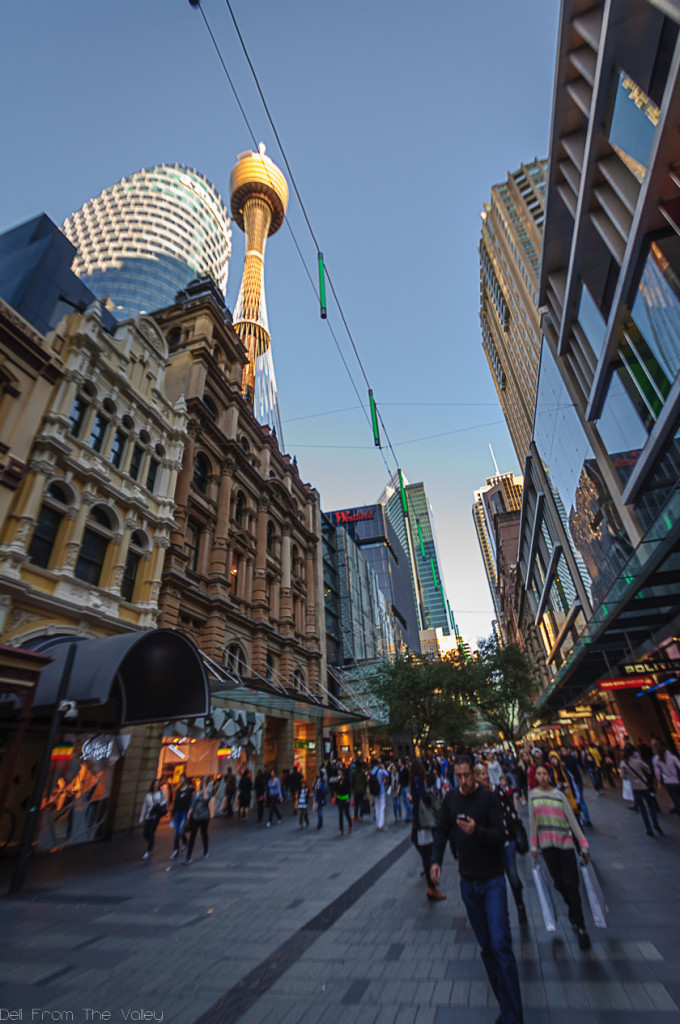 Sydney CBD Market Street