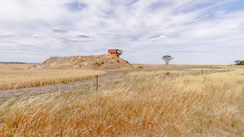 Truck on a Hill, Western Australia